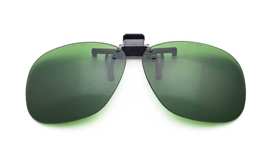 Aviator Clip-On Glassworking Safety Glasses - BoroView 3.0