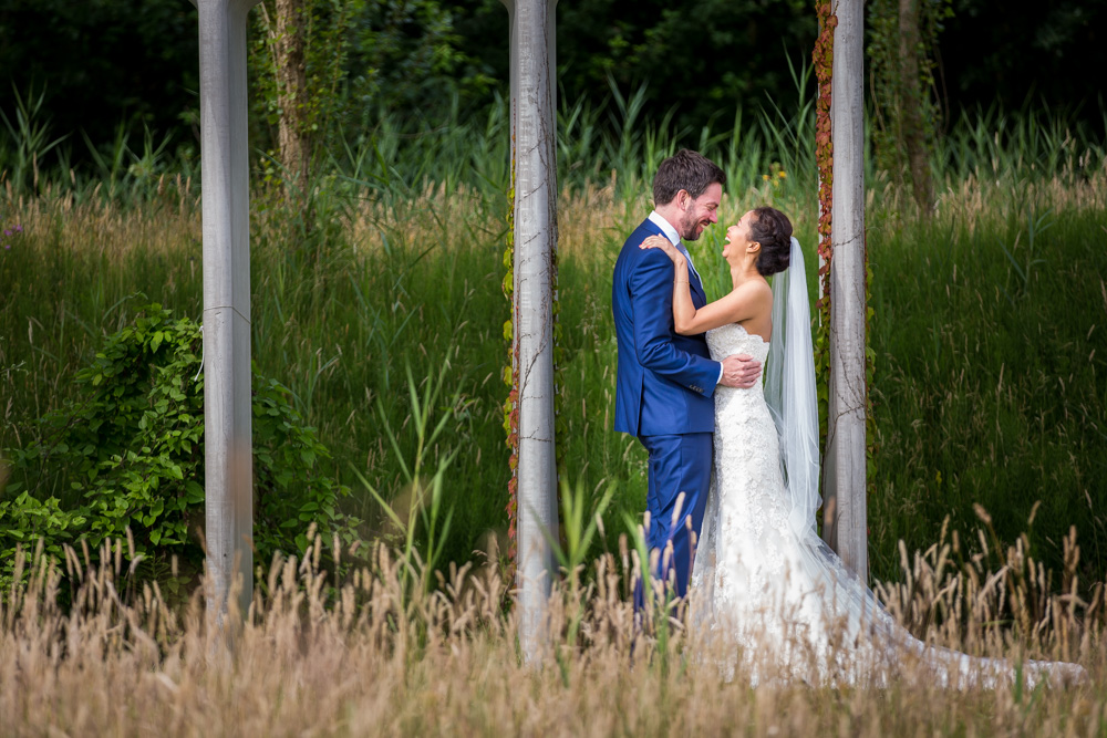 Romantische Bruidsfotografie
