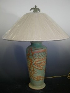 Wax Resist Lamps