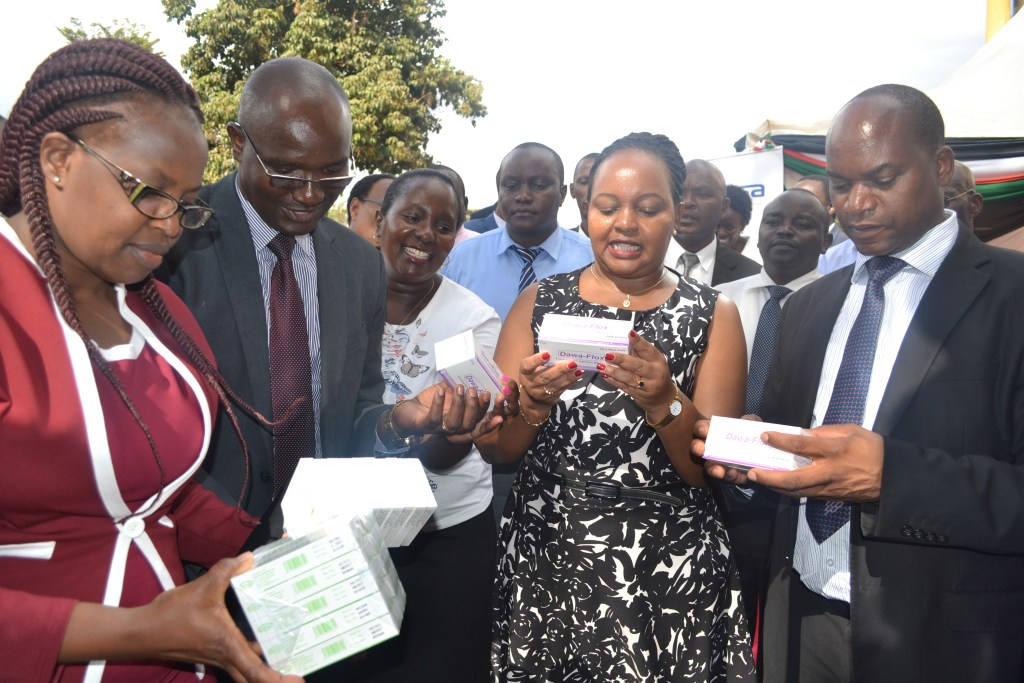 Speech by KEMSA, AG. Chief Executive Officer Mr. Fred Wanyonyi, during flagging off medical commodities in Kirinyaga County on 28th February 2018