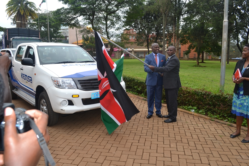 Nyeri County Flag Off