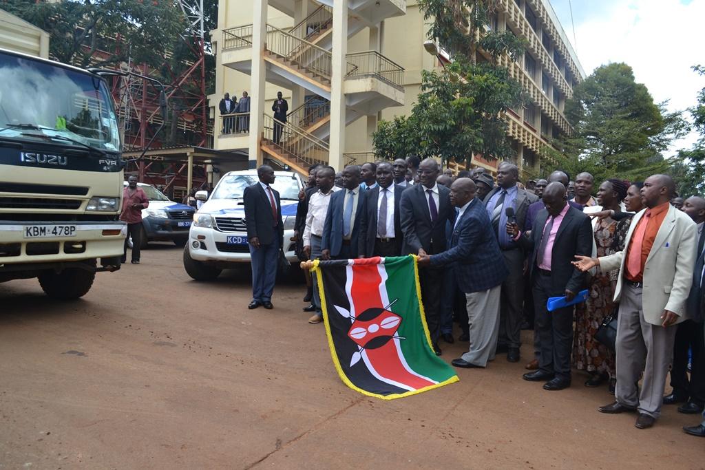 Nyamira County Flag Off