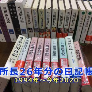 探偵の日記と調査力~26年日記を書く所長