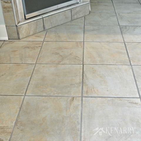 Clean Tile Floors Easily Without Chemicals or Scrubbing I love this easy idea for how to clean tile floors quickly and easily
