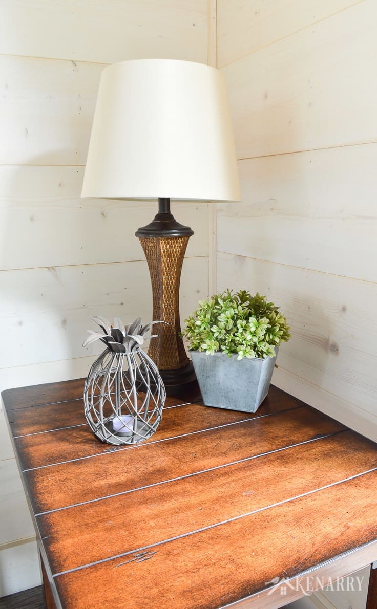 Cottage Sunroom Reveal Shiplap Walls And Decor