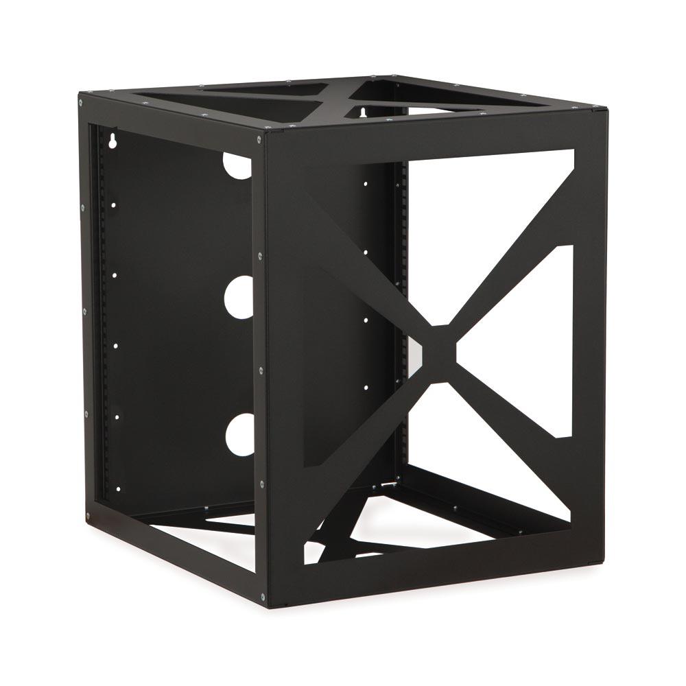 12u side load wall mount rack