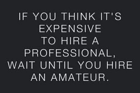 Hire only talented people: Inspirational Quotes