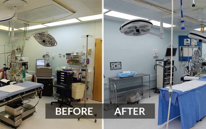 Call for retrofit industrial lighting fixtures