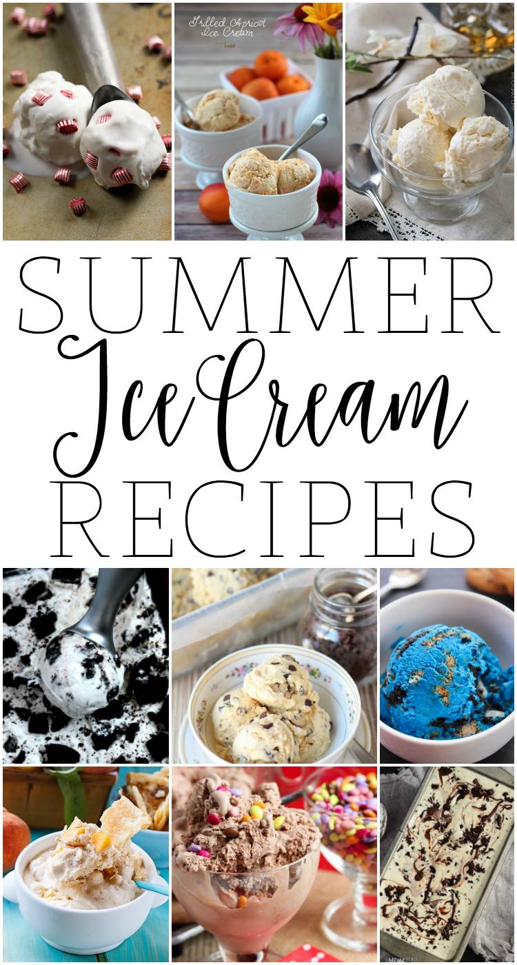 Summer Ice Cream Recipes