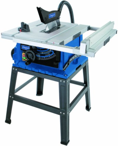Scheppach HS105 10″ Table saw with stand & extensions Cast Alloy Table Plus Extra 60TCT Blade