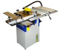 Charnwood W619 8″ Table saw with sliding table & extension. 1.5hp quiet induction motor.