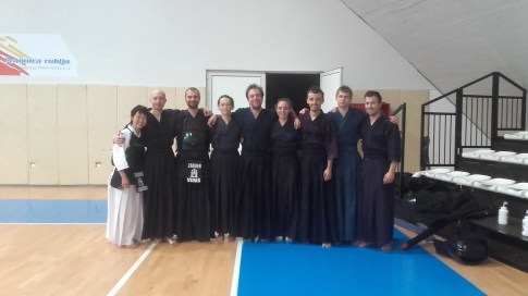 Seminar u Zadru sa Lancini i Barany sensei-em