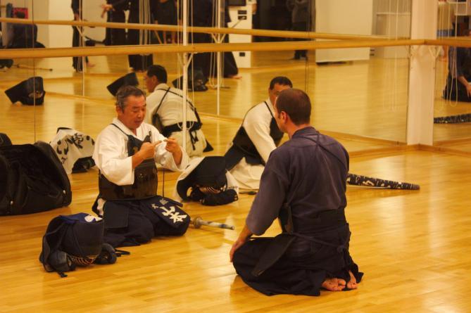 Trening sa Yamamoto sensei-em 2013.