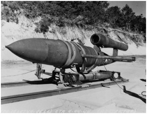 JB-2-Missile-on-a-sled