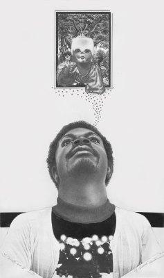 self portrait 1976 Ken Falana