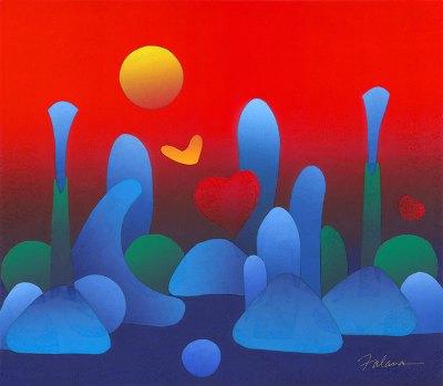<strong><em>Red Landscape</em></strong>, 2013