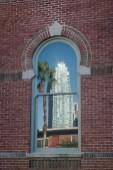 Reflection in a window @ U.T.