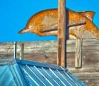 Fiberglass Dolphin, Tarpon Springs