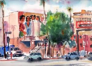 Hollywood High Mural
