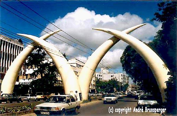 Mombasa Kenia die grossen staedte