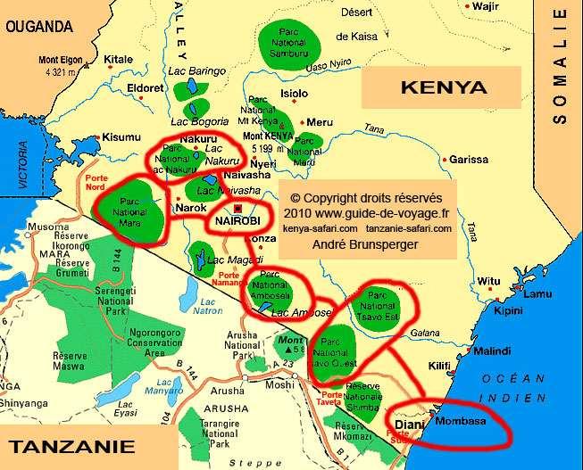 Kenia Komfort safari und Flitterwochen 13t ab Nairobi kenia 13 Tage Komfort plus Strand- und Flitterwochen-Safari-Tour