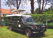die Buschfahrzeuge 4x4 Landcruiser - Kenia safari Tsavo Amboseli 4 tage
