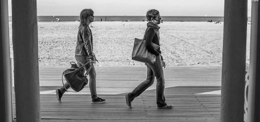 Two on the boardwalk