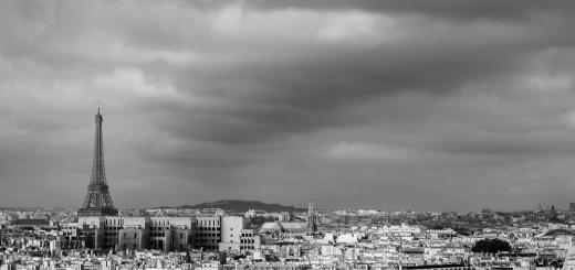 View of Paris from the top of Notre-Dame de Paris
