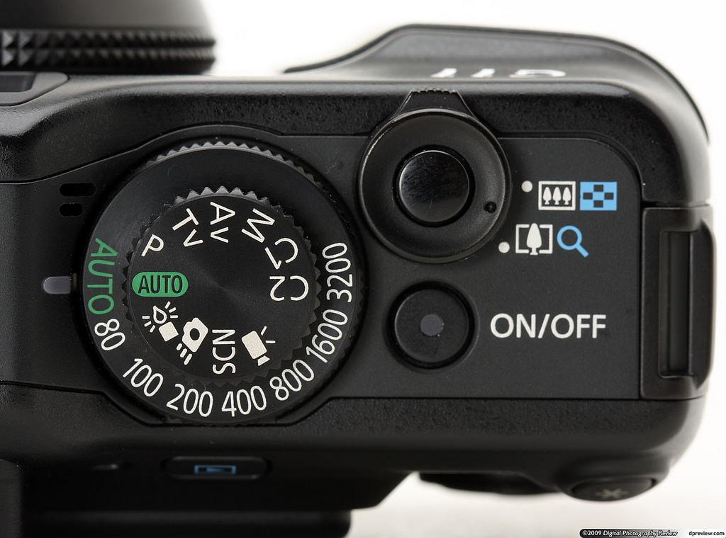 Canon G11 Auto Mode