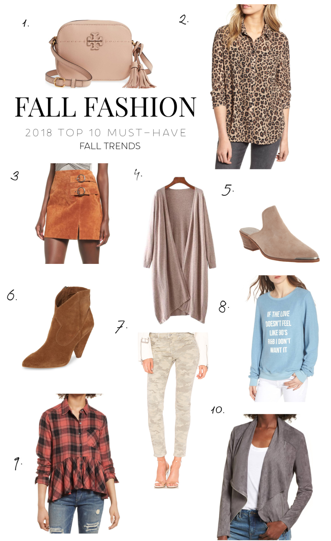 fall fashion trends 2018