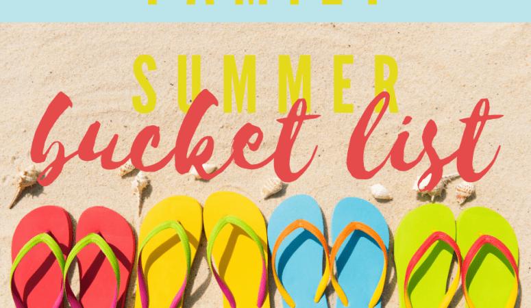 52 Family Summer Bucket List Ideas