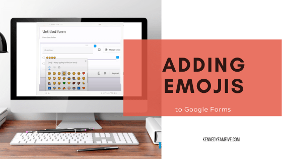 Adding emojis to google forms? Here's help! Also, teaching Transformations in Geometry--specifically, rotations.