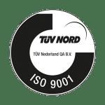 Loonbedrijf Kennes TUV Nord ISO9001 logo