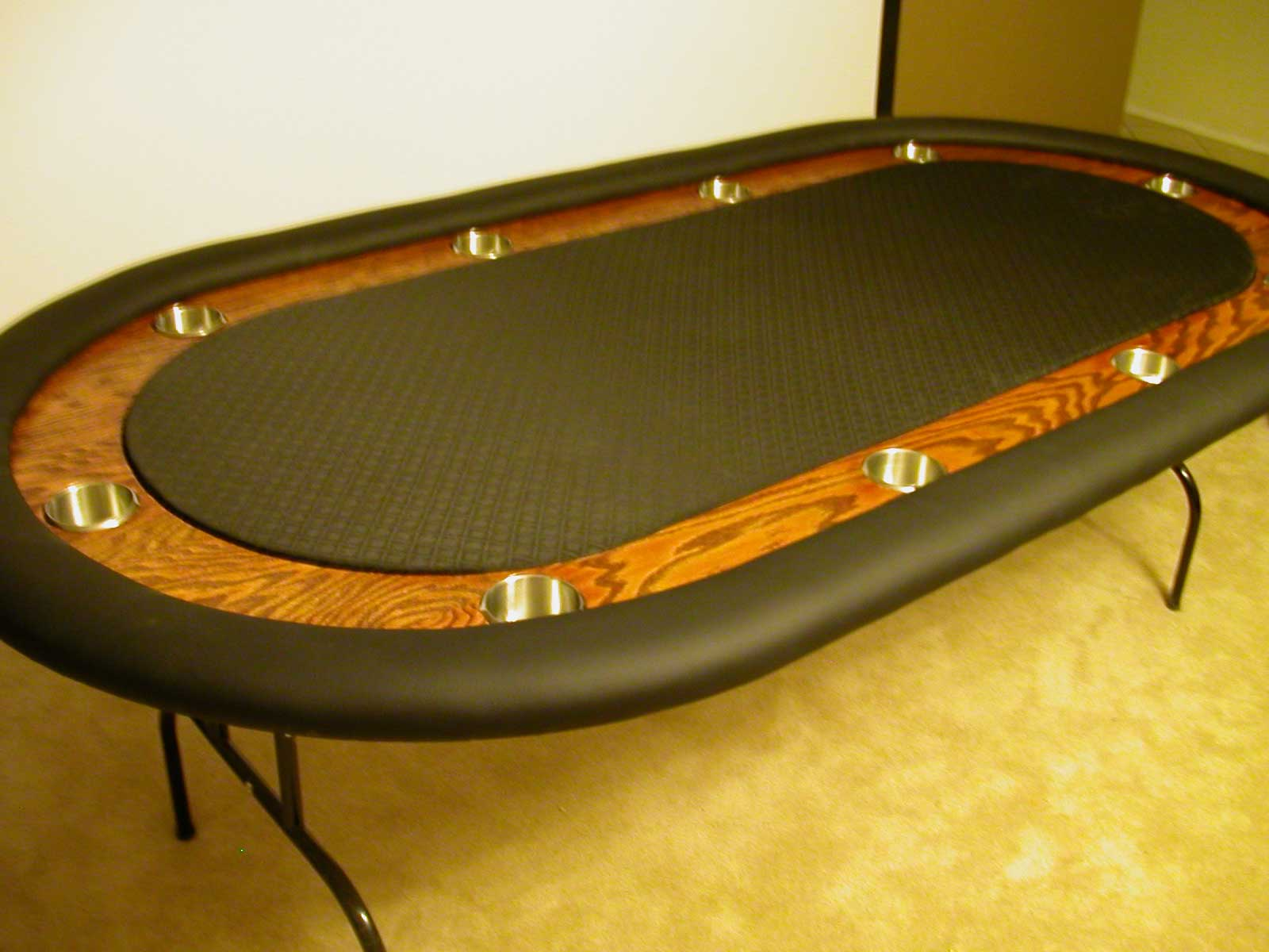 Poker Table Plans Racetrack PDF Woodworking