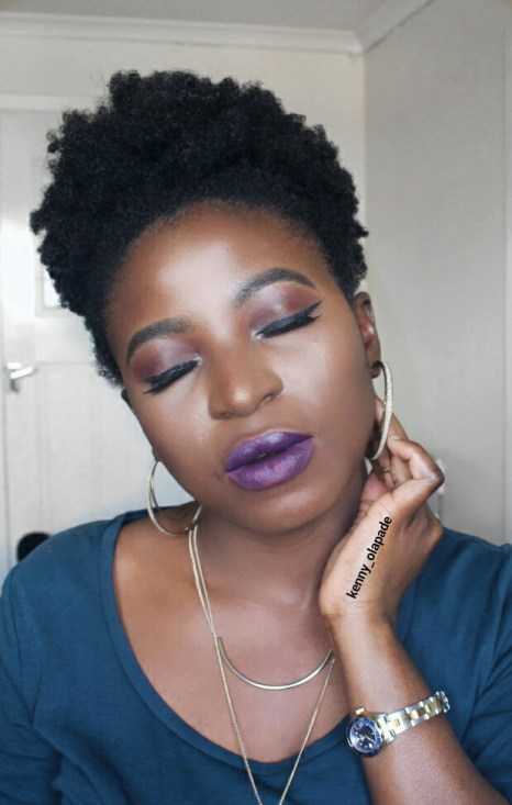 IMMISSONI Purple Dust Lipstick