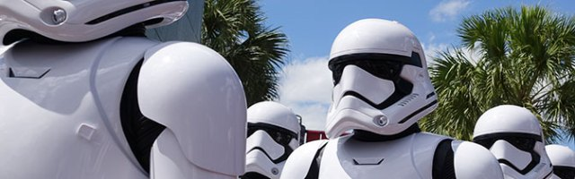 First Order Stormtroopers Hollywood Studios meet and greet KennythePirate