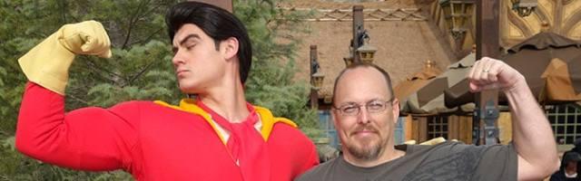 Gaston Magic Kingdom meet and greet KennythePirate