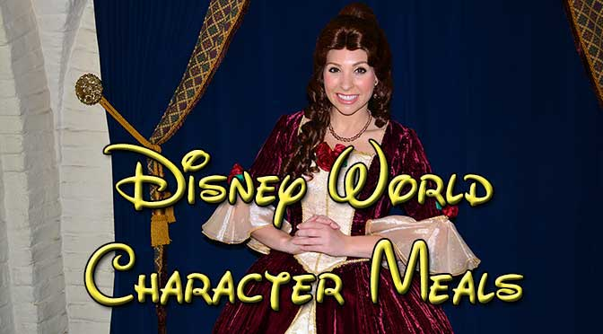 KennythePirate's Complete Guide to Disney World Character Meals
