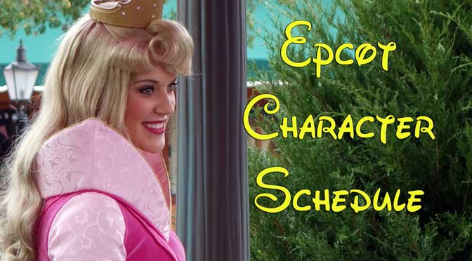 disney world character meet and greet schedule c