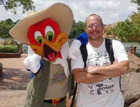 Woody Woodpecker Universal Islands of Adventure 2012