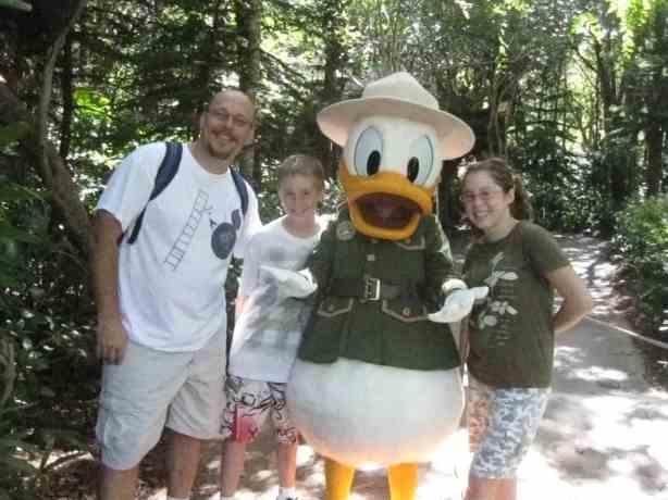 Donald Duck Animal Kingdom 2010