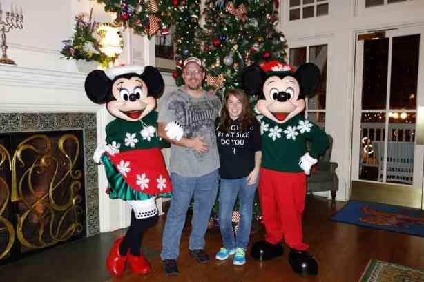 Mickey and Minniexmas boardwalk (4)
