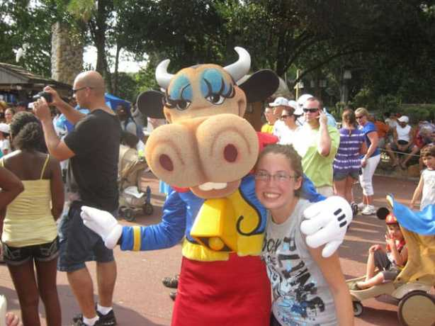 Clarabelle at Frontierland Hoedown 2011