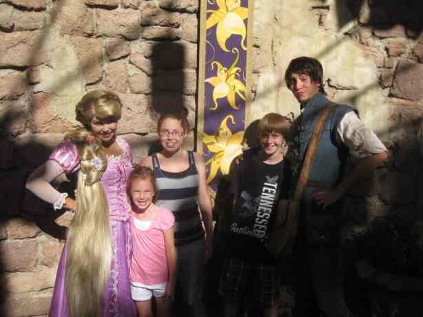 Flynn and Rapunzel 2011