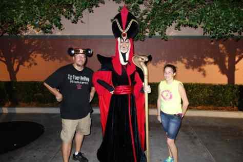 Jafar at the Villains Bash 2012