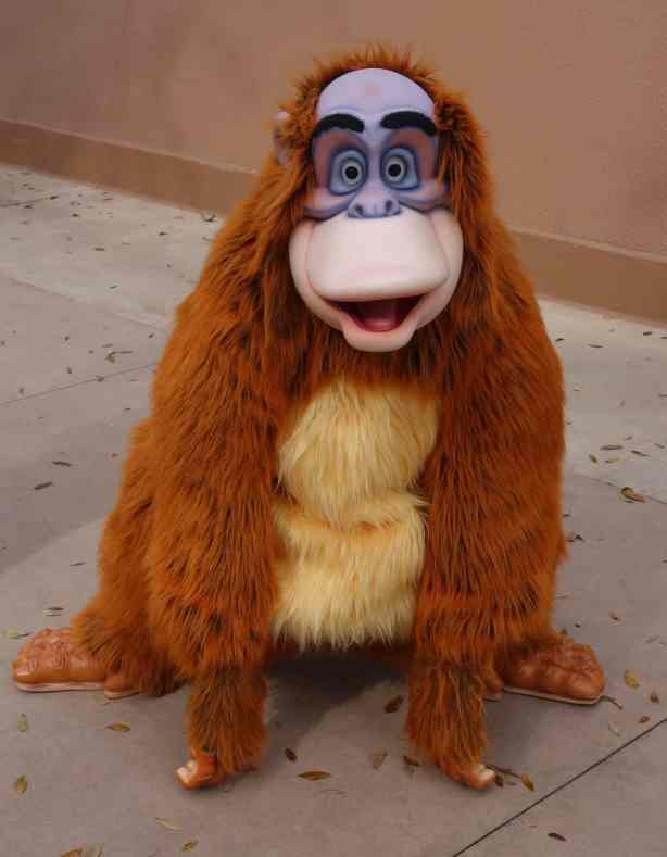 King Louie Epcot World Showplace 2013