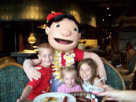 Lilo at Ohana 2006