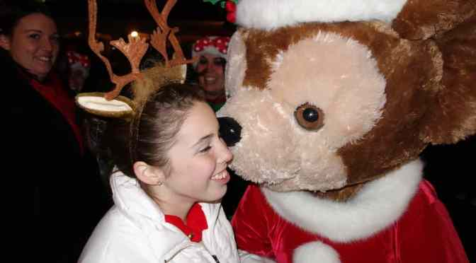 Limited Time Magic:  Duffy's Secret Santa Celebration at the Magic Kingdom