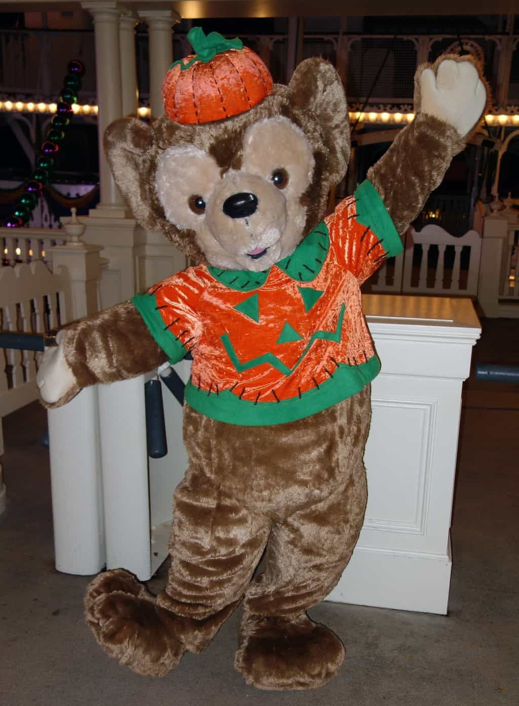 Duffy At Epcot 2011 Mickeys Very Merry Christmas Party 2012