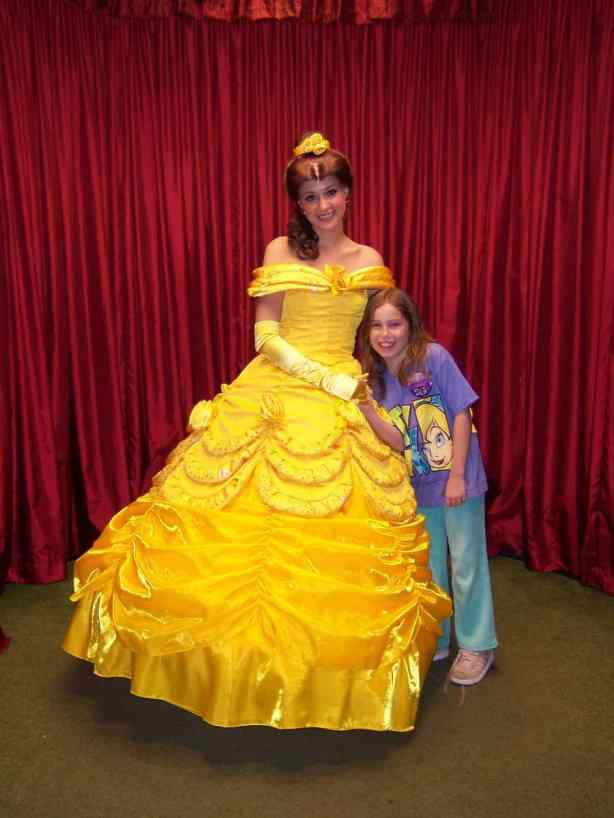 Belle at Toontown in Magic Kingdom 2006